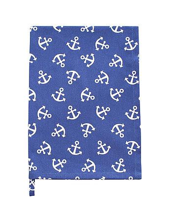 Krasilnikoff Geschirrtuch anker blau