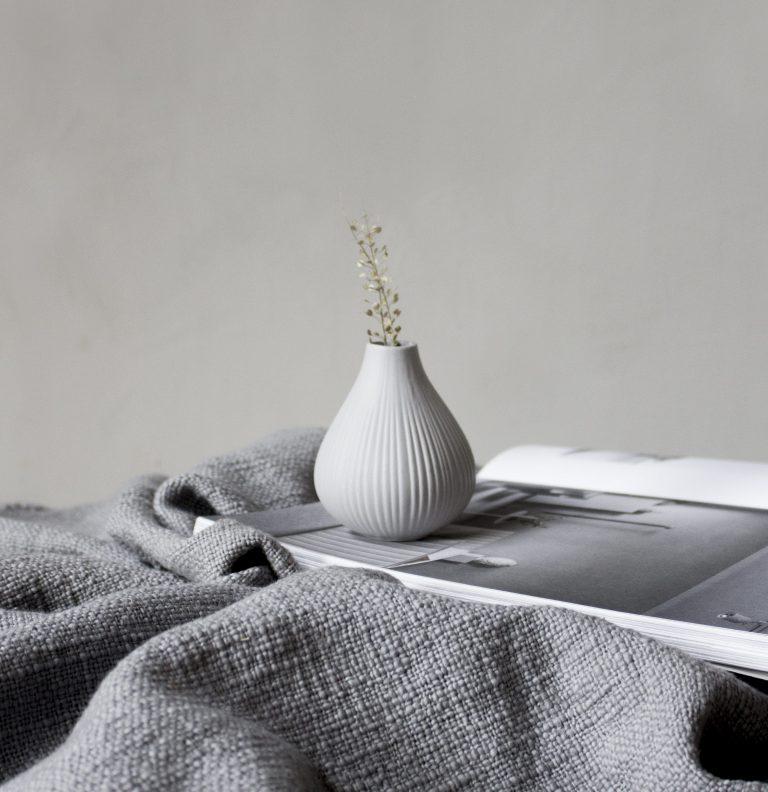 storefactory Vase ekenäs hellgrau