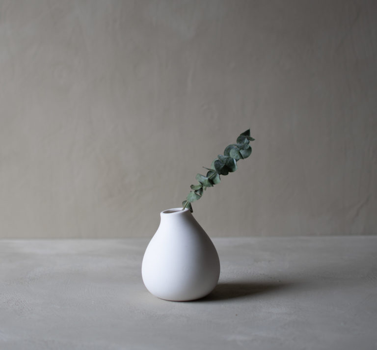 storefactory Vase Källa weiß