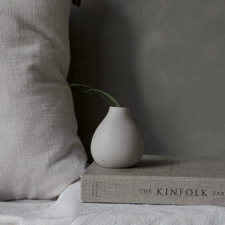 storefactory Vase Källa mini grau