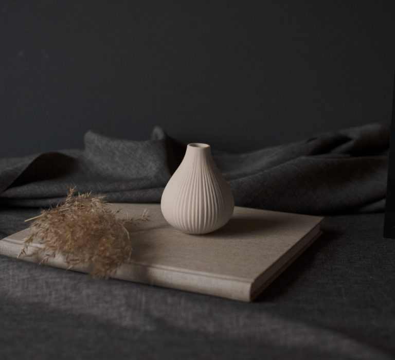 Storefactory Vase Ekenäs beige