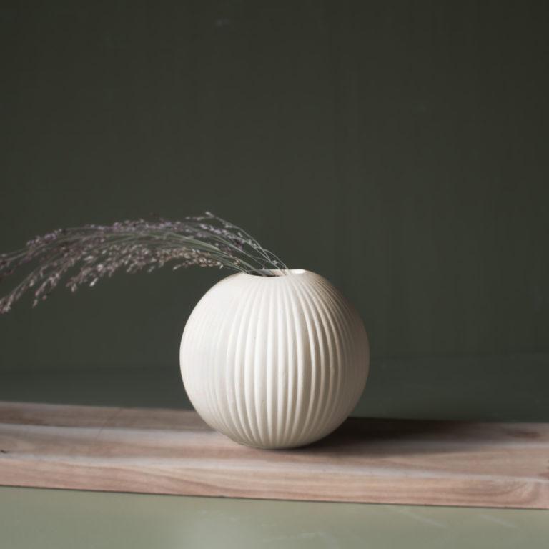 storefactory Vase vena beige