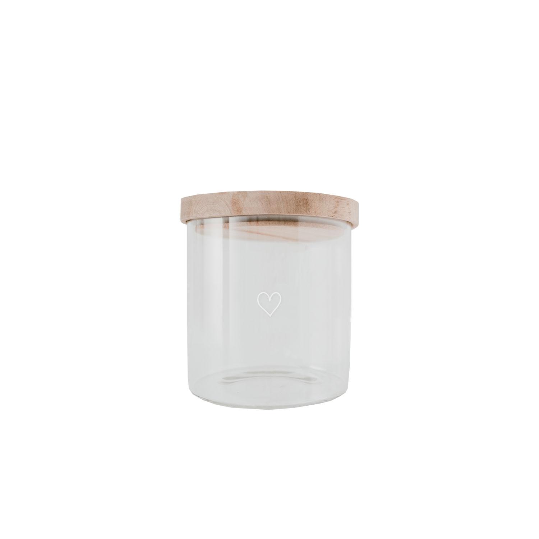 Eulenschnitt Vorratsglas H13cm