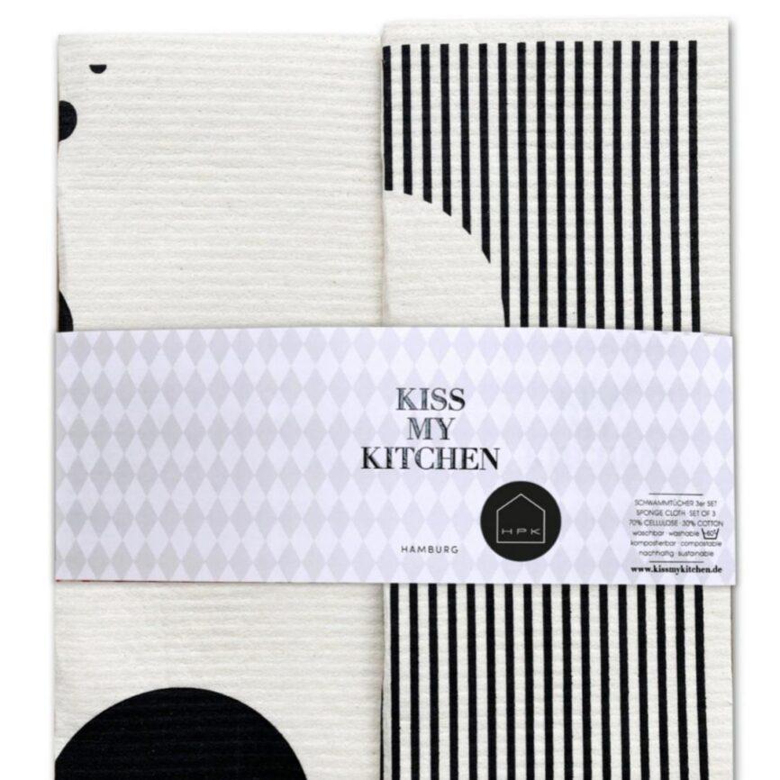 Kiss my Kitchen 2 Kitchen Hero shapes & Stripes hpk