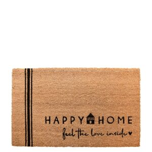 Bastion Collections Fußmatte Happy Home