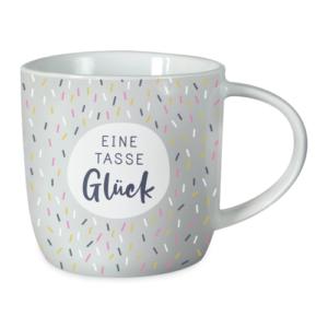 Grafik Werkstatt Tasse Eine Tasse Glück