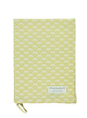 Krasilnikoff Geschirrtuch daisy yellow