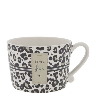 Bastion Collections Tasse Leomuster coffee love