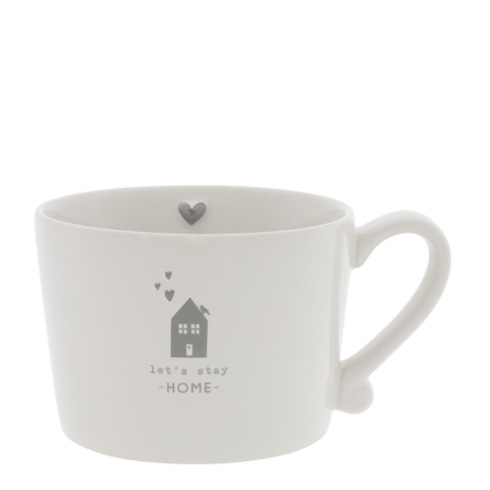 Bastion Collections Tasse Lets stay home