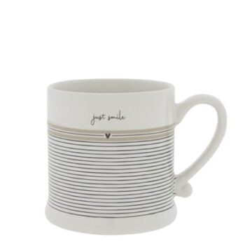 Bastion Collections Tasse just smile