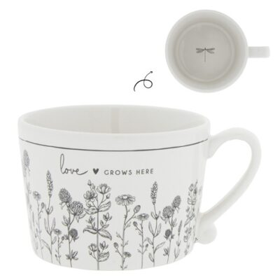 Bastion Collections Tasse Love grows