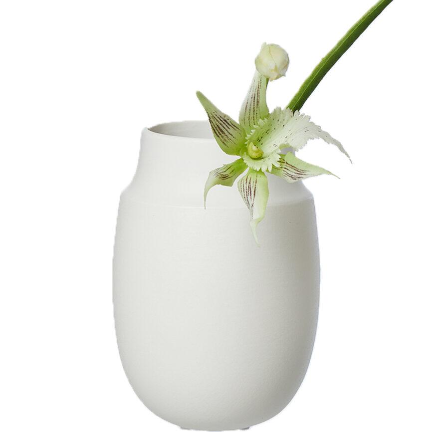Oohh Collection Vase aya weiß