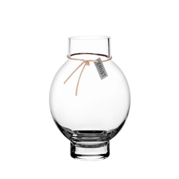 Ernst Glas Vase Oval