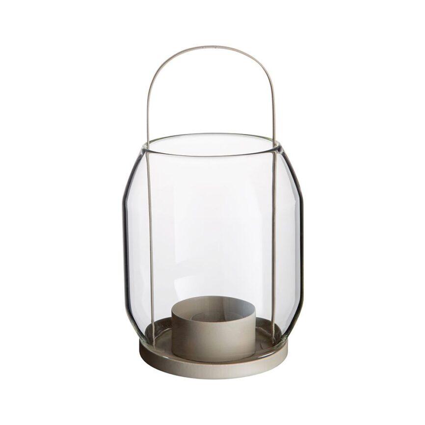 Ernst Laterne für Teelicht in beige