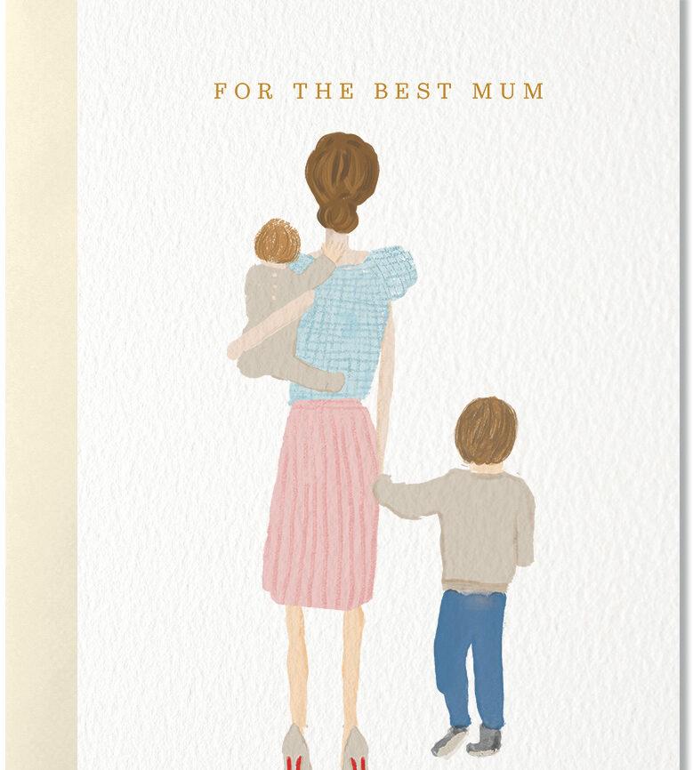 Nelly Kastro Umschlagkarte Best Mum