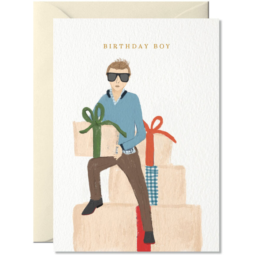 Nelly Castro Umschlagkarte Birthday