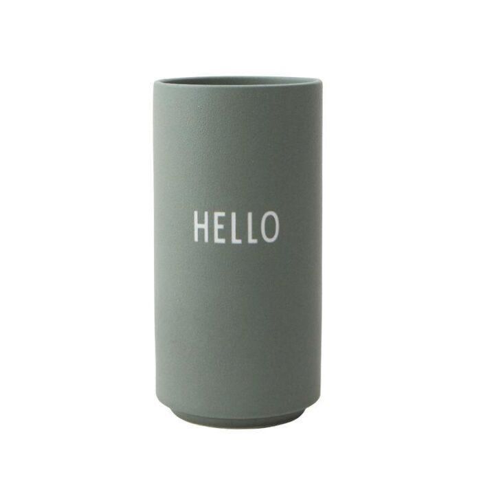 Design Letters Vase Hello
