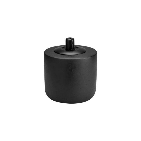 Ernst Öl Lampe schwarz aus beton