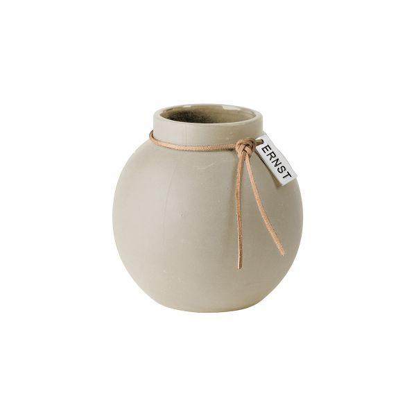 Ernst Vase Natural beige d10cm