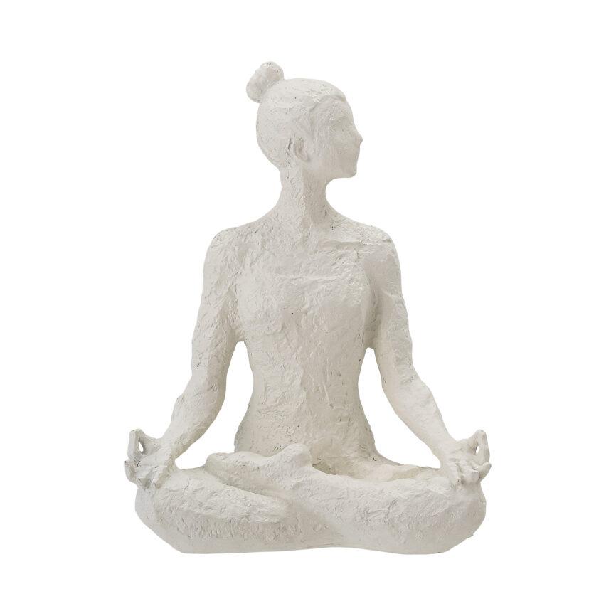 Bloomingville Skulptur Adalina weiß