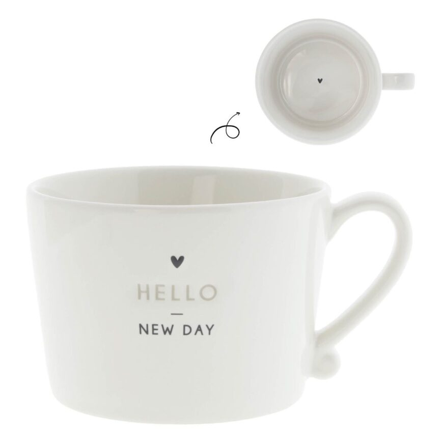 Bastion Collections Tasse hello new day