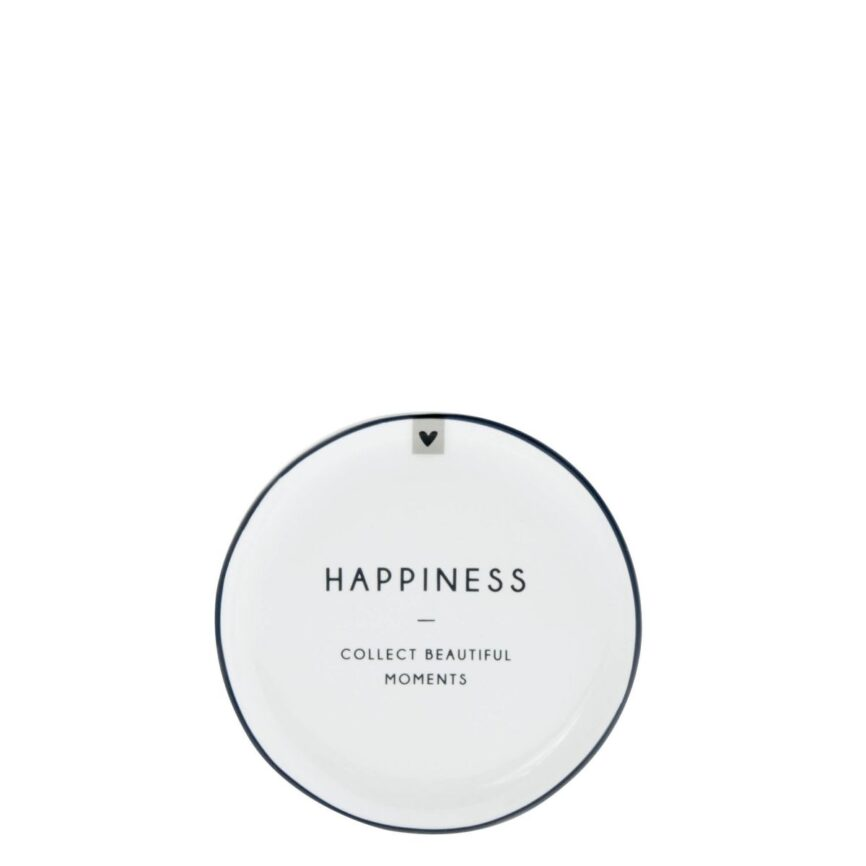 Bastion Collections Kleiner Teller Happiness