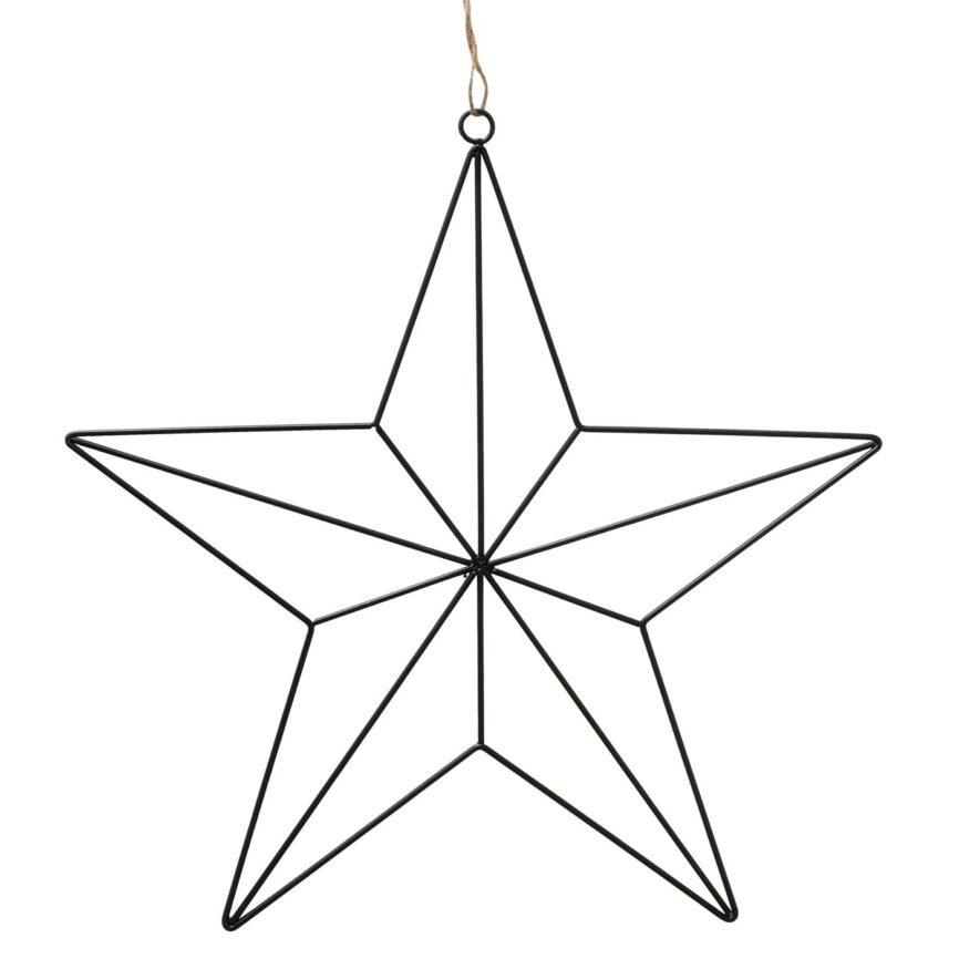 Metall Stern zum Aufhängen D35cm