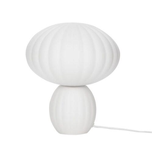 Hübsch Interior Lampe Opal weiß