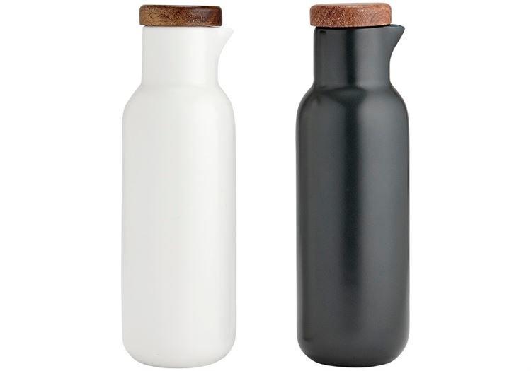 Ladelle Öl und essig weiß anthazit